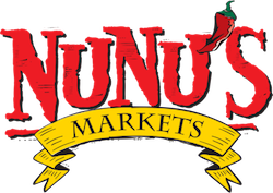 A theme logo of Nunu's Fresh Market
